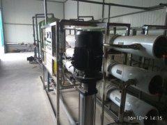 大王化工厂纯净水设备案例