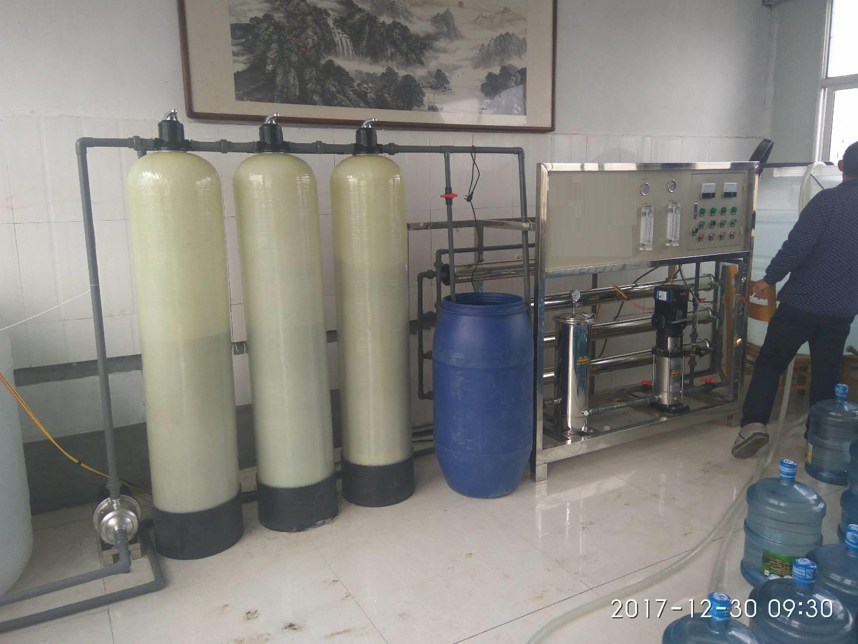 临朐2吨单级纯净水设备