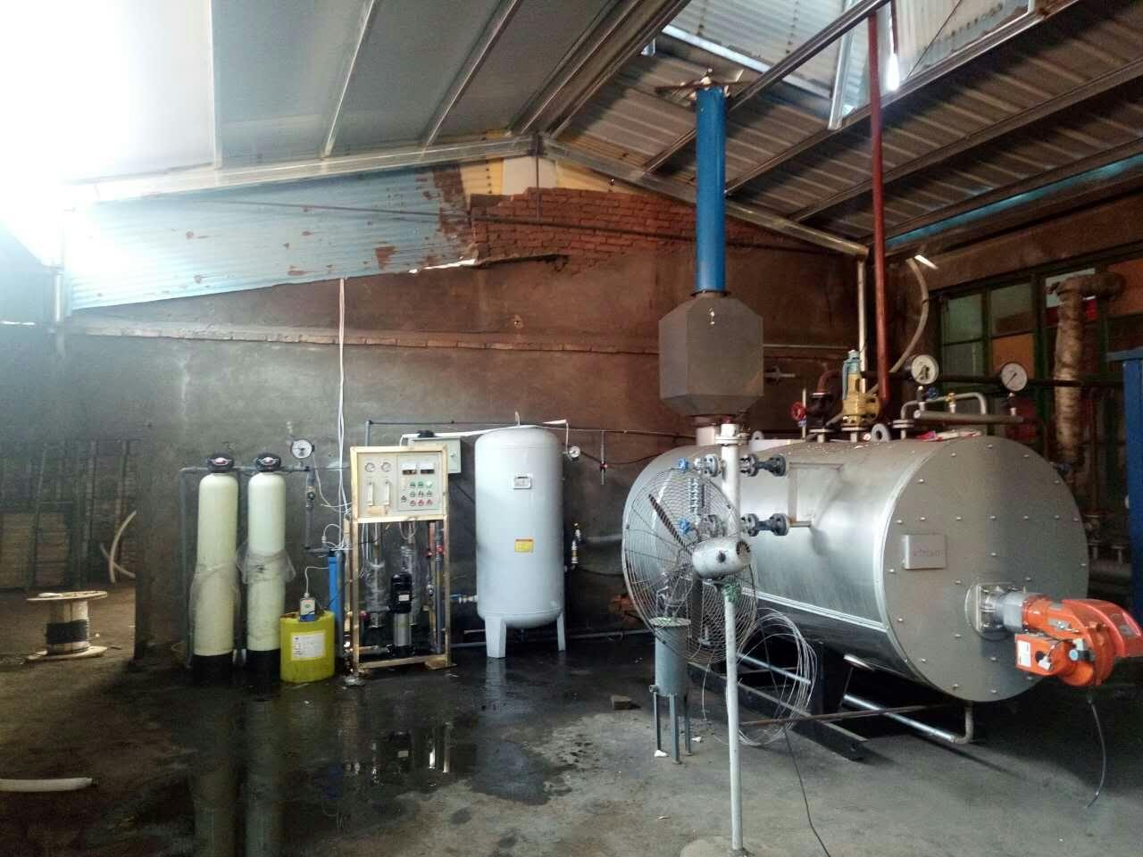 青州某食品厂锅炉纯净水设备
