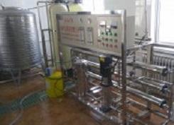 亚光 食堂用纯净水设备 洗碗机用水设备