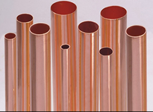 Smooth copper pipe