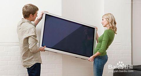 搬家电视机拆装说明