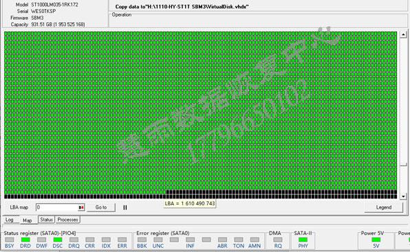 ST1000LM035开盘系统文件28(翻译器)损坏数据恢复 成功案例 第5张