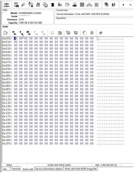 PC-3000如何处理希捷F3 SenseCode = 87270000错误 技术文章 第10张