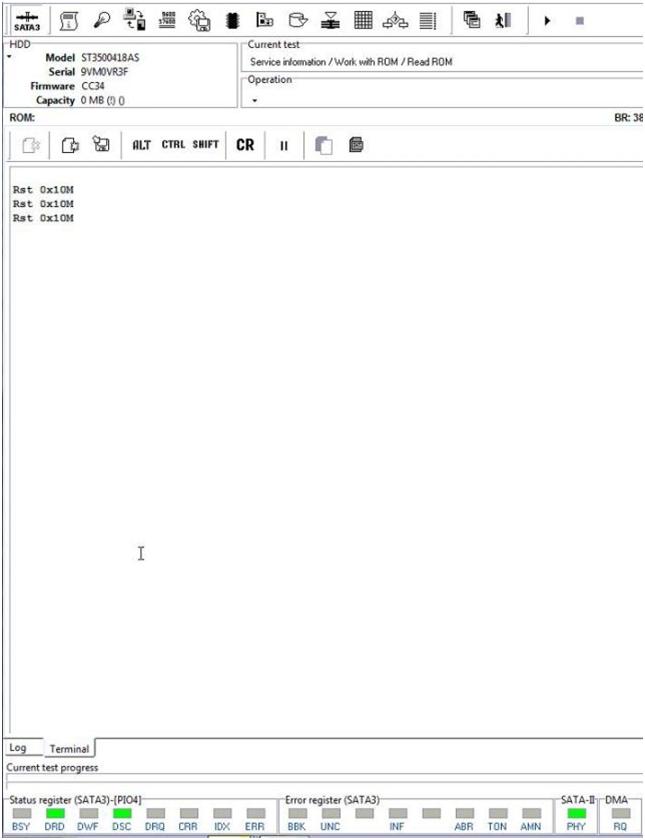 PC-3000用于HDD。希捷F3。修复Init SMART Fail错误的更简单方法 技术文章 第2张