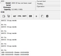 硬盘数据恢复:希捷ST500DM002数据恢复报错LED:000000CD常见案例一则