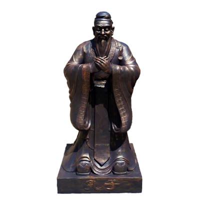 校园孔子雕像