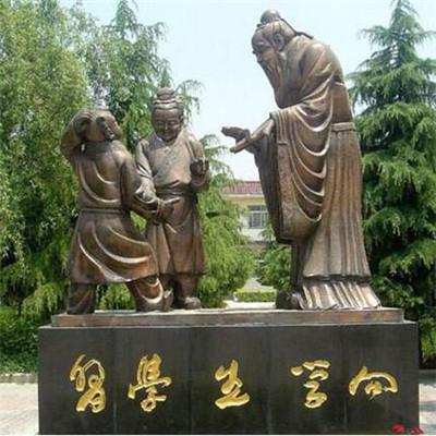 大型孔子铜雕