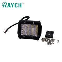 27W Tri-Row LED Work Lights Spot Beam