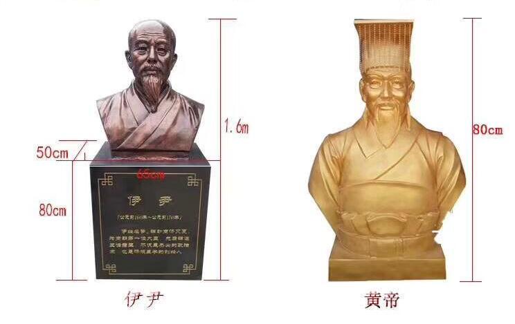 伊伊/黄帝铜像定做厂家