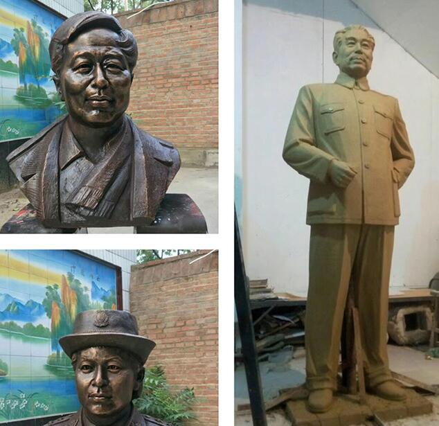 名人塑像-名人雕像铸铜厂
