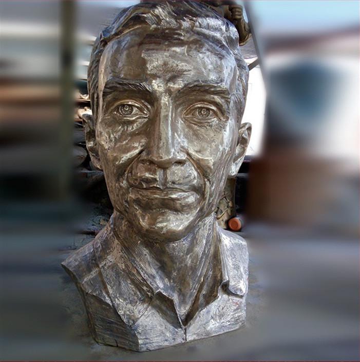 人物雕塑半身像