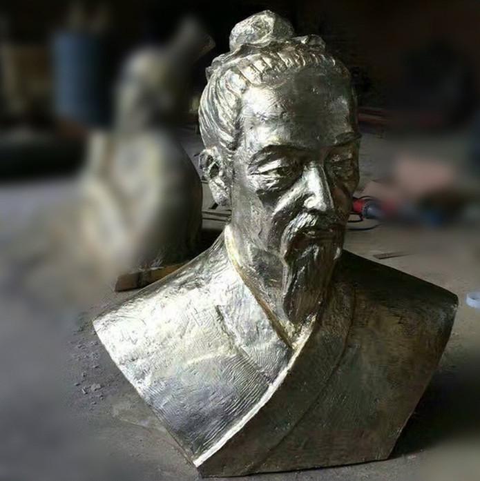 古代人物半身雕像