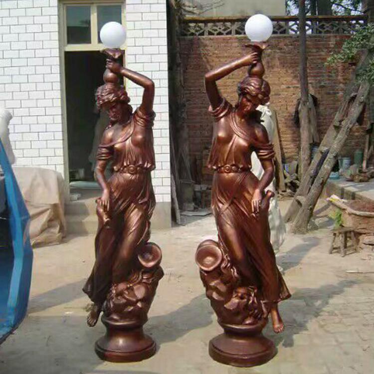 欧式人物铸铜雕塑