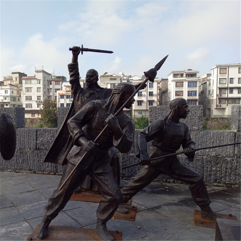 古代将军雕塑厂家