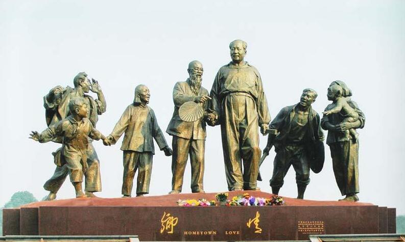 伟人雕塑-毛主席伟人雕塑