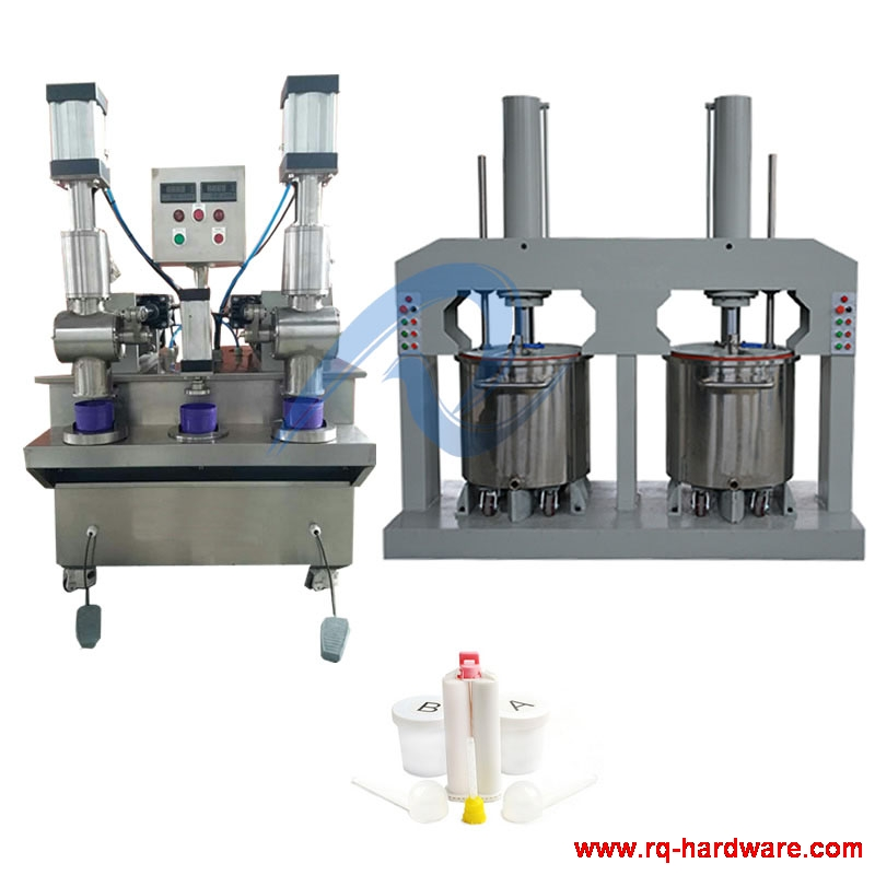 400G Dental Impression Material Silicone Putty Filling Machine