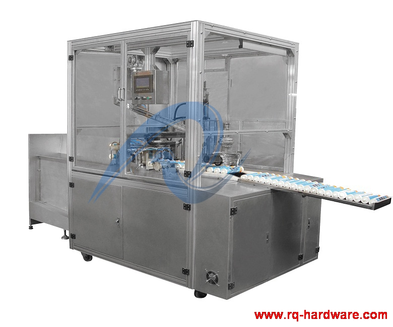 Automatic Filling And Capping Machine For 300ml Silicon Sealant