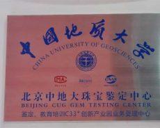 中国地质大学北京中地大珠宝鉴定中心落户C33+创新产业园