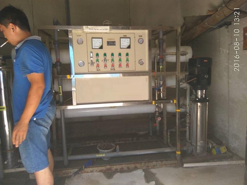 莱芜客户6吨单级纯净水设备
