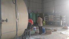 东营客户10吨纯净水设备单级