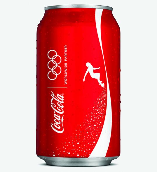 食品 创意陈列_可口可乐 - 2010年冬季奥林匹克运动会包装设计※包装设计公司 ...