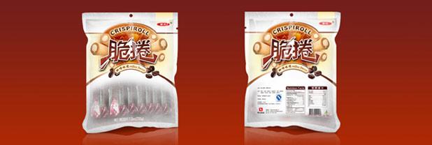 上海华元食品盛香珍系列脆�园�装设计