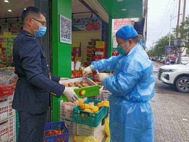 县市监局开展进口食品专项检查