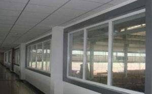 河北甲级防火窗安装实例