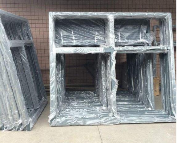 防火窗厂家半成品存放