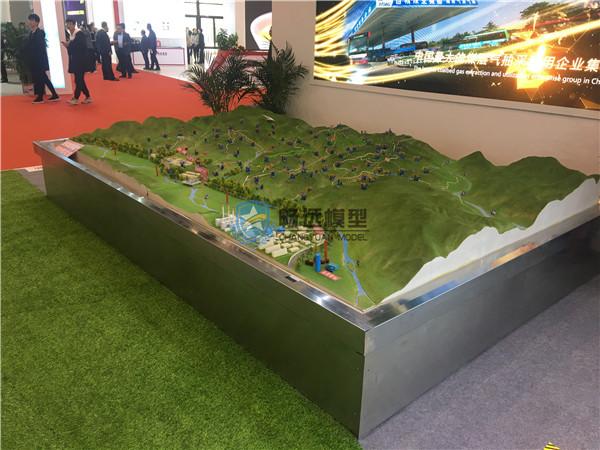 北京惠安畅远模型-煤层气开发利用区域沙盘