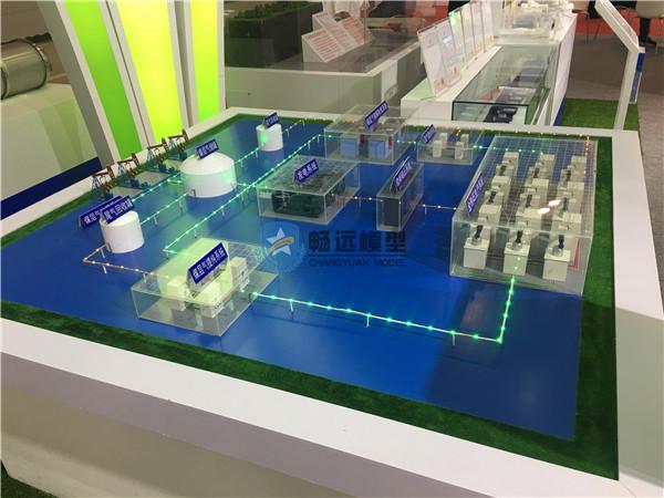 北京惠安畅远模型-煤层气制金刚石项目模型