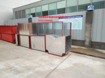 中铁十六局管道井新风系统安装