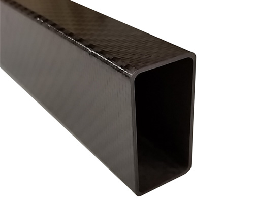 Rectangular Carbon Fiber Tubes