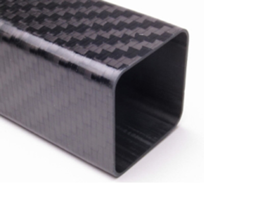 3mm square carbon fiber tube