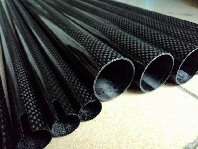 High quality 3k carbon fibre tube 25mm 30mm