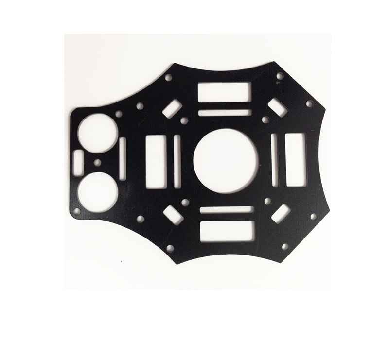 6mm 3K carbon fiber sheet plate CNC cutting  drones Quadcopter Frame