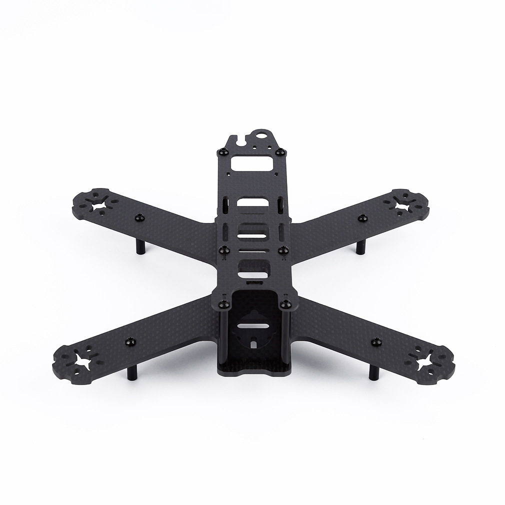 1mm 2mm 3mm 4mm 3K carbon fiber sheet plate CNC cutting  drones Quadcopter Frame