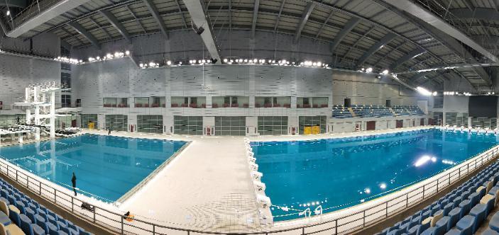 游泳馆跳水馆LED照明解决方案