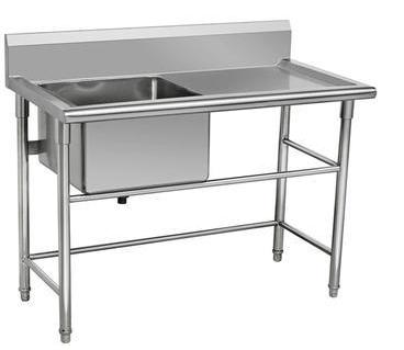 不锈钢厨具-单星洗刷台