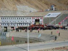 狮泉河水电站排水压力钢管防冻采用安徽中益自
