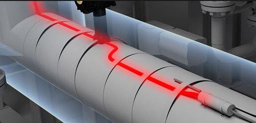电热带管道效果图