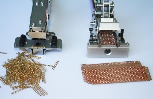 排式铜扣接料钳