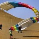 滑翔伞结构组成