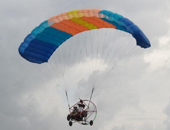 动力伞体验飞行