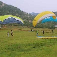 滕州莲青山滑翔伞基地