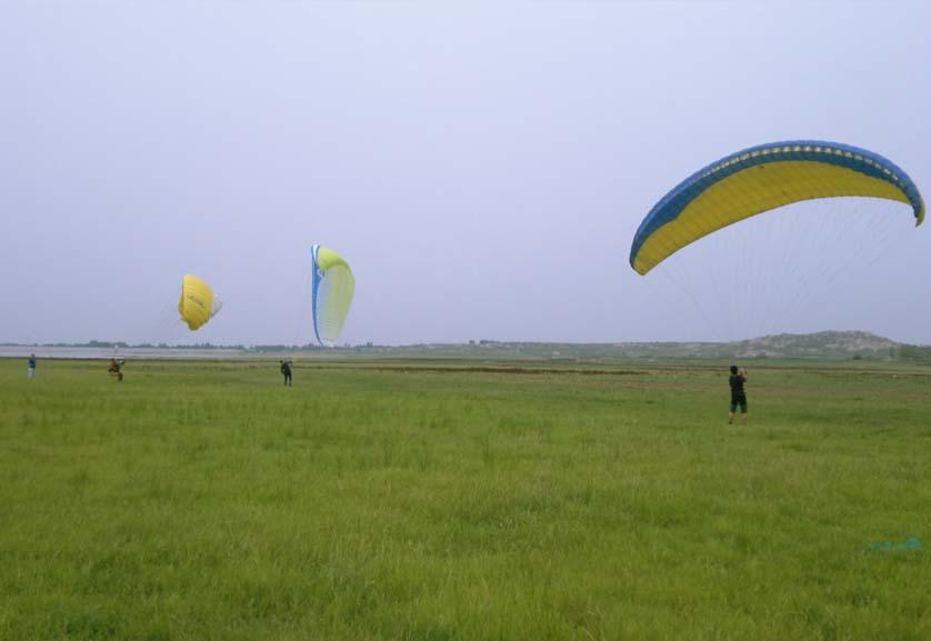 滕州莲青山滑翔伞基地第2训练场