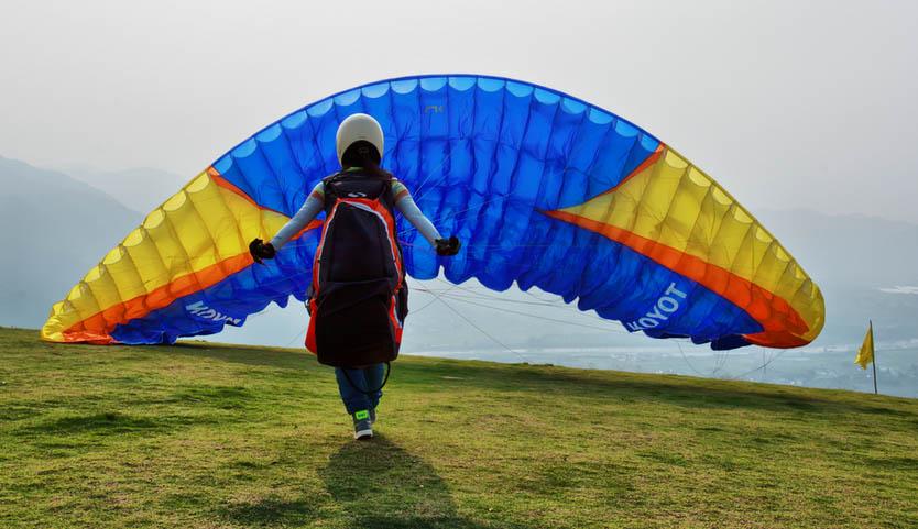 滑翔伞证书等级考试说明