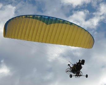 axis动力伞图片