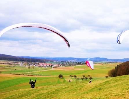 滑翔伞培训初级内容处飞
